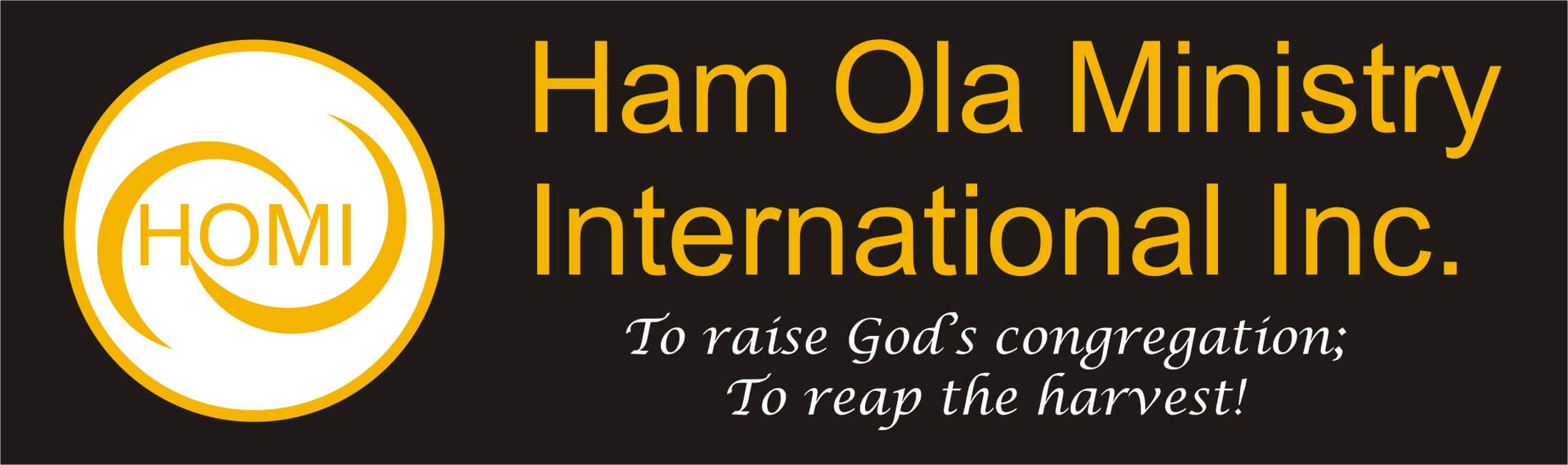 Ham Ola Ministry International Inc